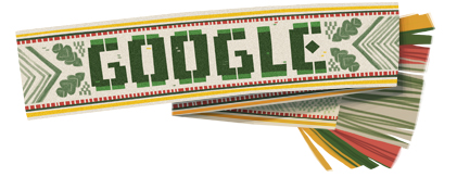 Google Logo: Lithuania independence day - 2012